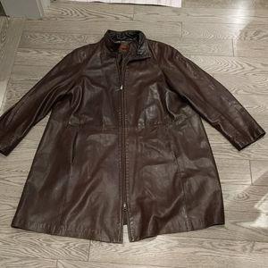 Woman's genuine leather jacket by Danier
